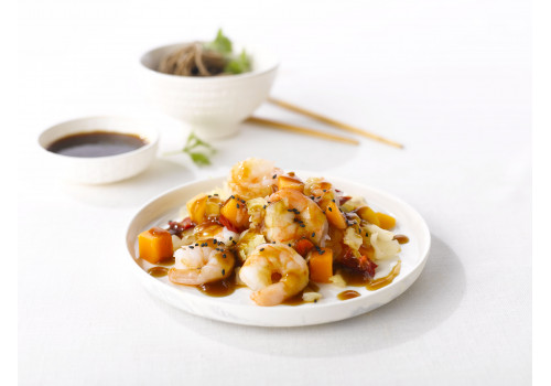 COOKING - SCAMPI MET RODE CURRY