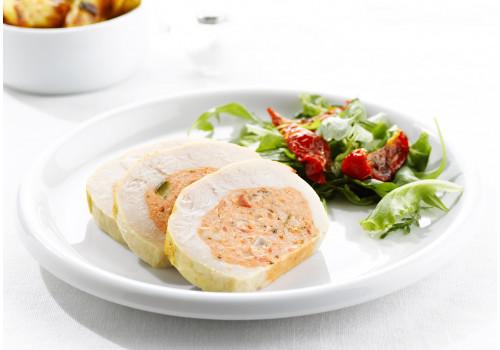 VOLYS - KIPPENROLLADE m.zongedroogde tomaten