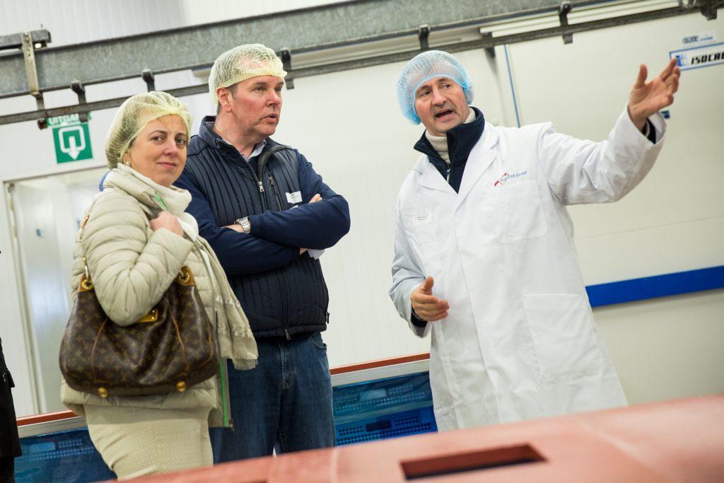 Dirk De Clercq oudste werknemer tijdens opening nieuw bedrijfsgebouw