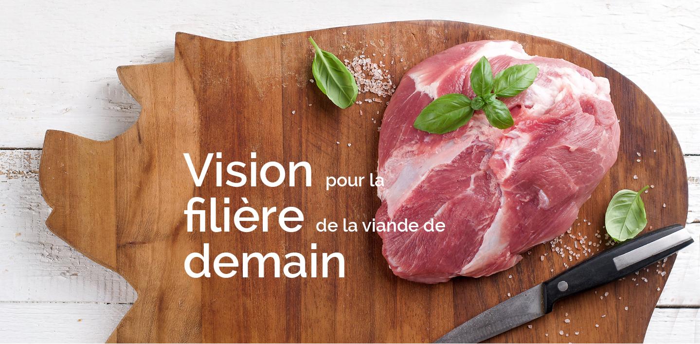 Vision pour la filière de la viande de demain