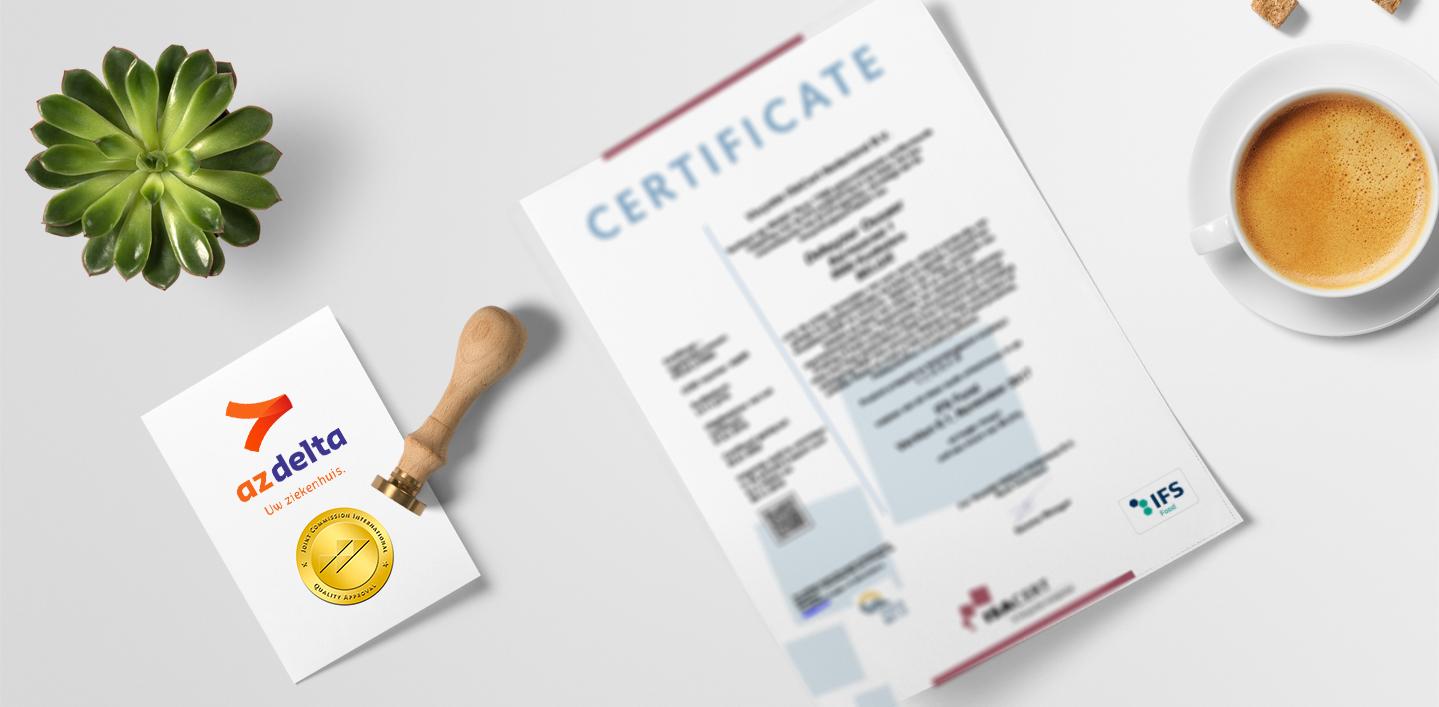 IFS certificaat Dekeyzer-Ossaer