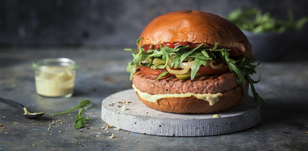 Greenway vegan burger