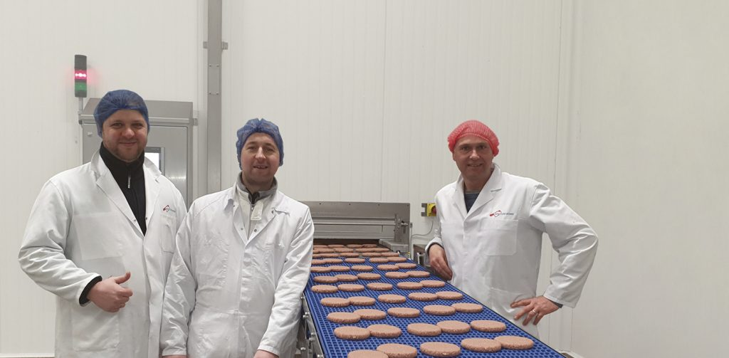 Geenway burger geproduceert in Dekeyzer-Ossaer