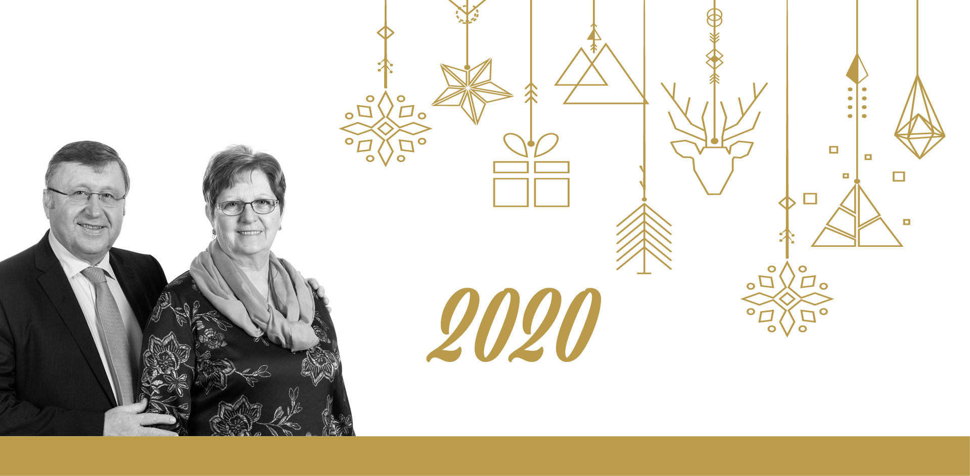 Beste Wensen voor het nieuwe jaar vanwege Dekeyzer-Ossaer